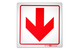 SAFETY SIGNAGE- ARROW