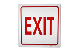 SAFETY SIGNAGE - EXIT